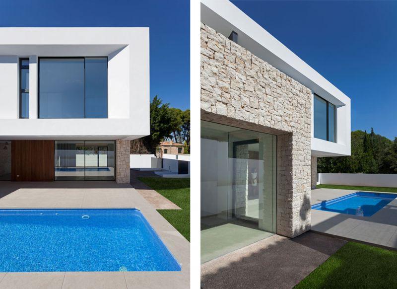 arquitectura casa wedge antonio altarriba CHE fotografía de Diego Opazo exterior detalles