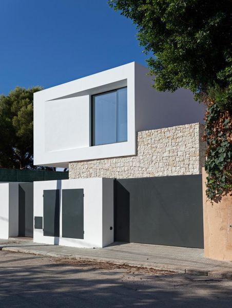 arquitectura casa wedge antonio altarriba CHE fotografía de Diego Opazo exterior parcela