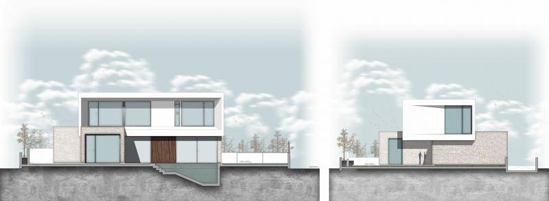 arquitectura casa wedge antonio altarriba CHE alzados