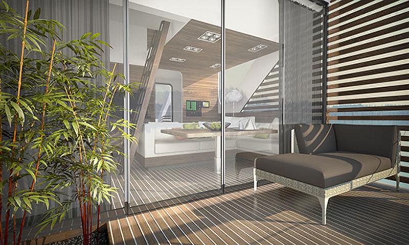 arquitectura_Catamaran-Apartmen_FloatingHotel_vista de cubierta