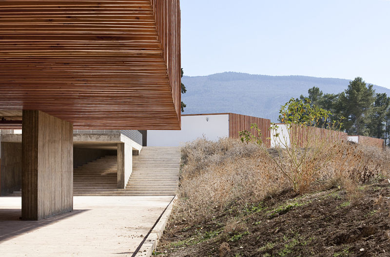 Arquitectura_centro_de_visitantes_Volubilis_marruecos