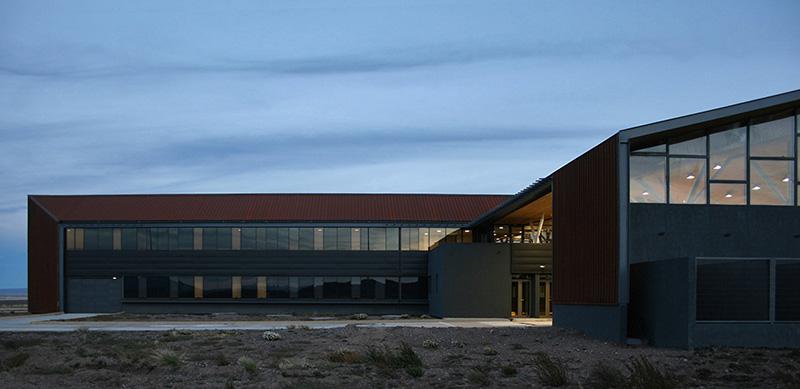 arquitectura_Centro Huemules_chile-vista de la zona mas permeable