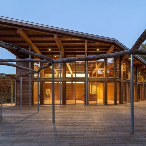arquitectura_centro visitantes_paseo acceso
