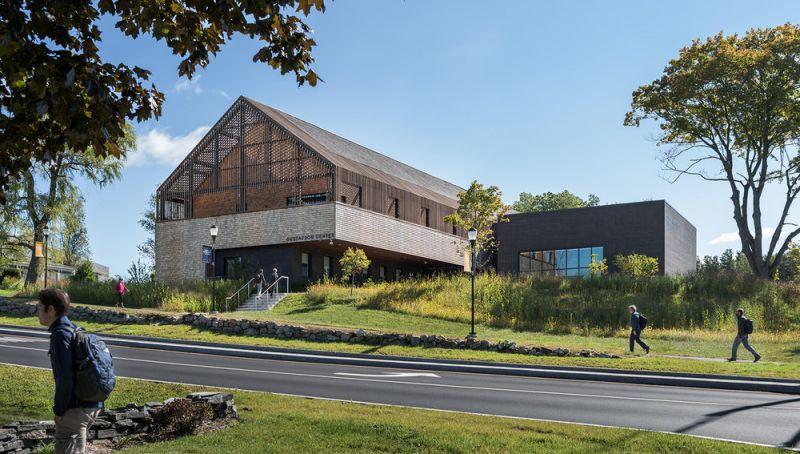 arquitectura_centros educativos perry dean_Gustafson Center