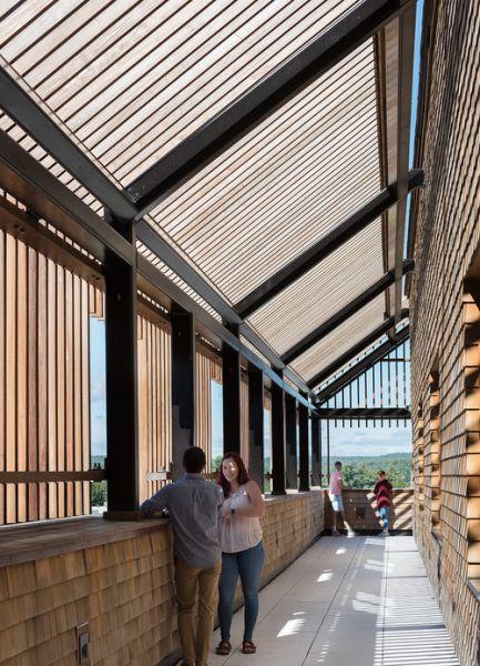 arquitectura_centros educativos perry dean_Gustafson Center_luz