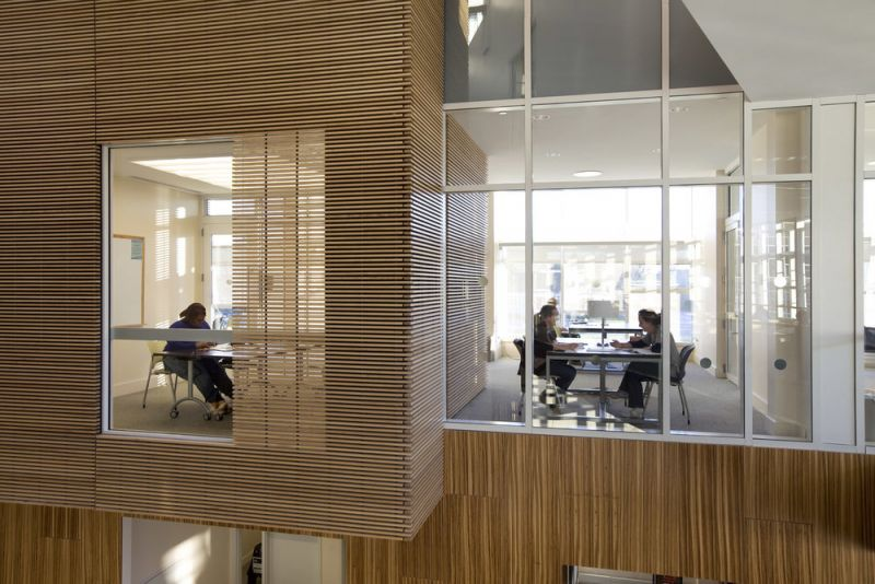 arquitectura_centros educativos perry dean_Research & Information Commons_interior