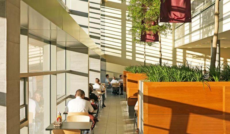 arquitectura_centros educativos perry dean_Wise Campus Center_INTERIOR