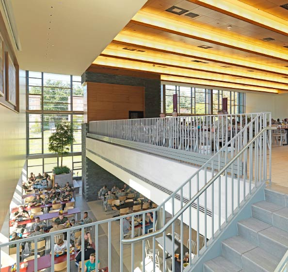 arquitectura_centros educativos perry dean_Wise Campus Center_INTERIOR