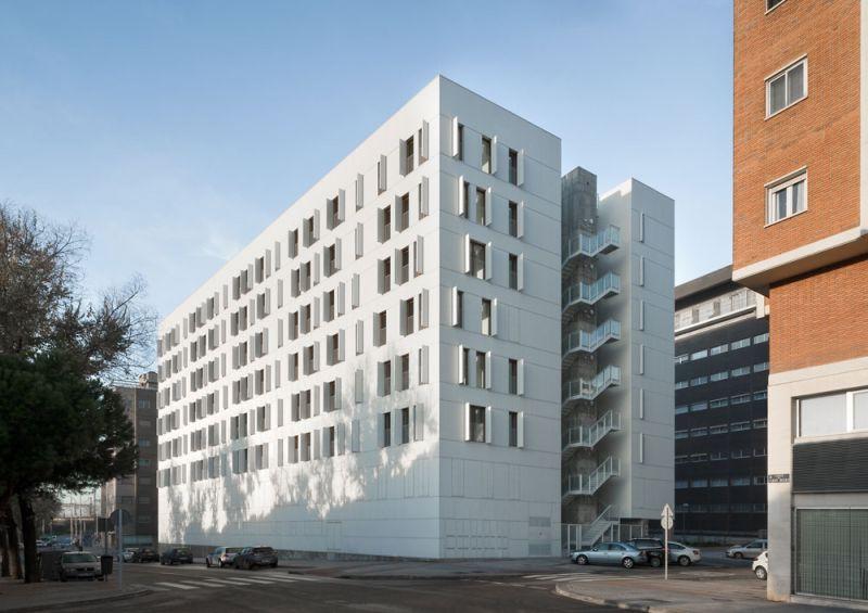 arquitectura Adelfas 98 Ruiz-Larrrea Asociados Entrevistas Arquitectura y Empresa Foto general ventanas abiertas