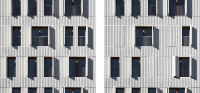 arquitectura Adelfas 98 Ruiz-Larrrea Asociados Entrevistas Arquitectura y Empresa Foto detalle fachada