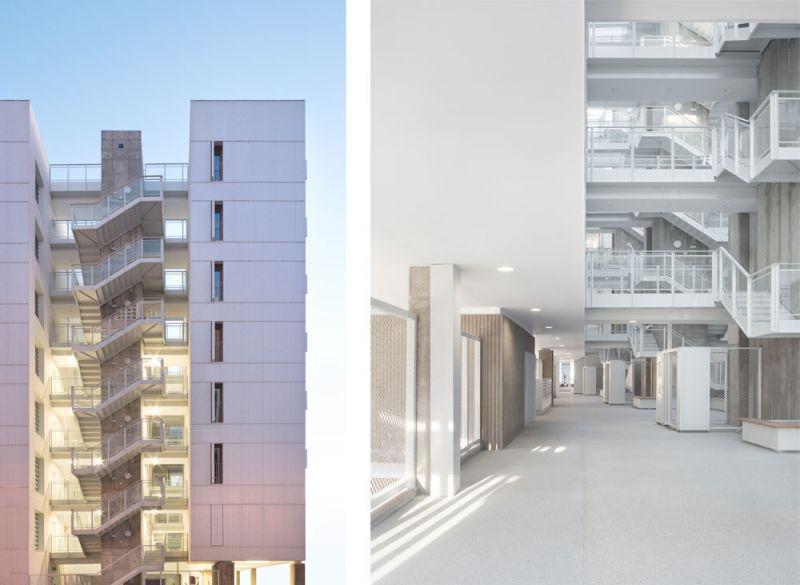 arquitectura Adelfas 98 Ruiz-Larrrea Asociados Entrevistas Arquitectura y Empresa Foto escaleras