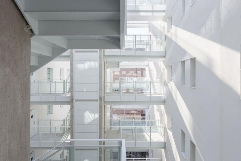 arquitectura Adelfas 98 Ruiz-Larrrea Asociados Entrevistas Arquitectura y Empresa Foto interiores