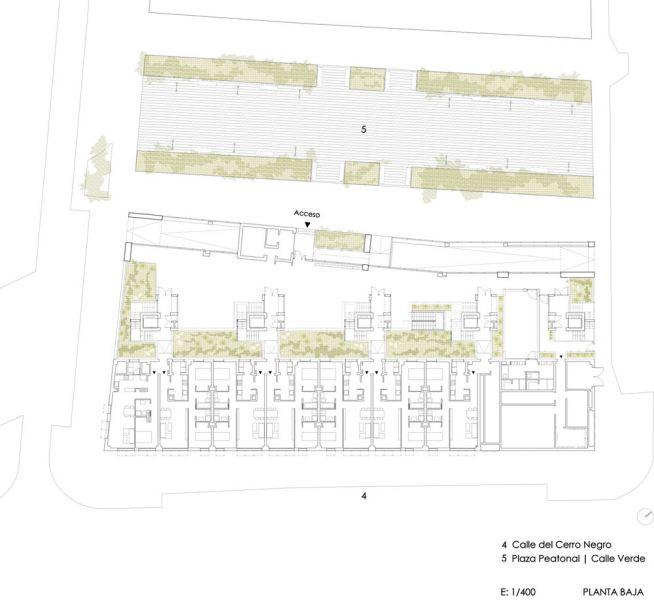 arquitectura Adelfas 98 Ruiz-Larrrea Asociados Entrevistas Arquitectura y Empresa planta baja