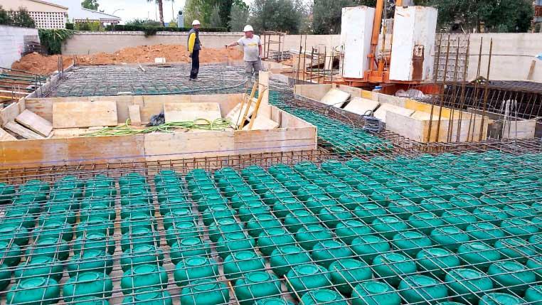 Cuerpos Huecos Estructurales CHE Deeb Chiralt Arquitectos arquitecturayempresa obra