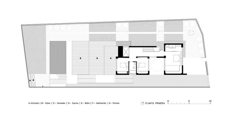 Cuerpos Huecos Estructurales CHE Deeb Chiralt Arquitectos arquitecturayempresa  planta primera