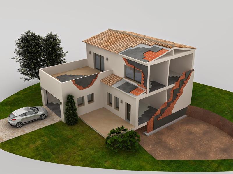 Chova sistemas de impermeabilizacion y aislamiento videos formativos APP arquitecturayempresa 3D