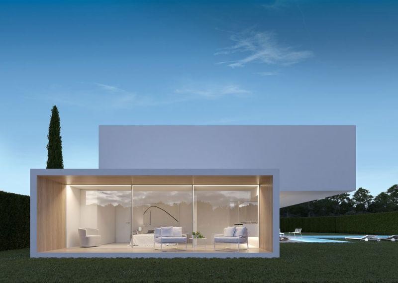 arquitectura ciclo de entrevistas exlusivas arquitectura y empresa gallardo llopis arquitectos casa RDF La casa y los vértices imagen terraza privada