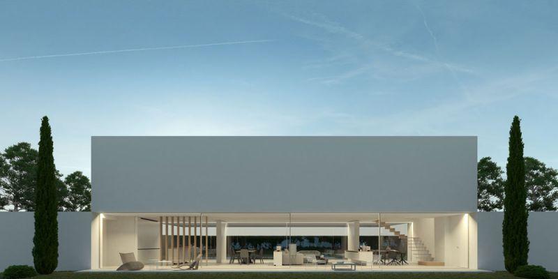 arquitectura ciclo de entrevistas exlusivas arquitectura y empresa gallardo llopis arquitectos casa RDF La casa y los vértices imagen exterior