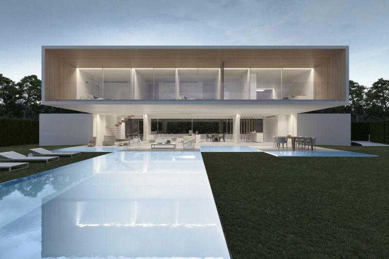 arquitectura ciclo de entrevistas exlusivas arquitectura y empresa gallardo llopis arquitectos casa RDF La casa y los vértices imagen exterior general