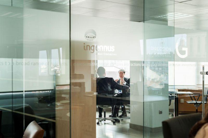 arquitectura y empresa ciclo de entrevistas exclusivas ingennus torre zaragoza oficina