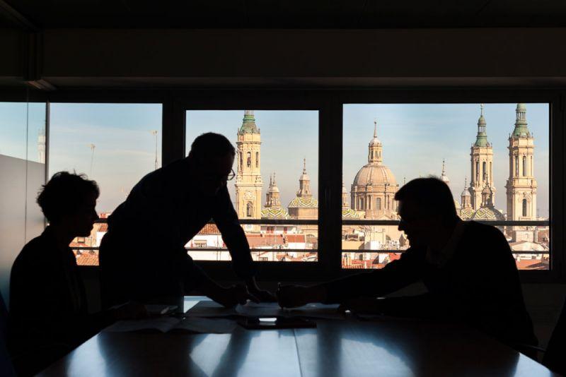 arquitectura y empresa ciclo de entrevistas exclusivas ingennus torre zaragoza estudio