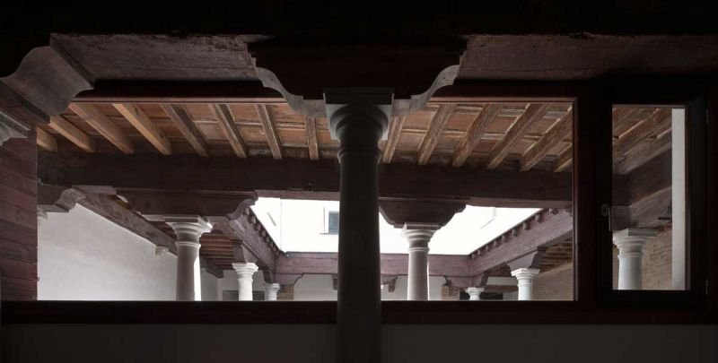 arquitectura ciclo de entrevistas exclusivas de arquitectura y empresa jorge molinero rehabilitación elvira 78 detalle vigas