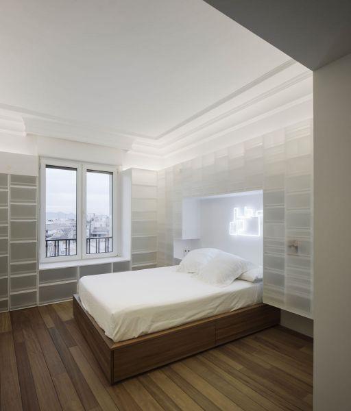 arquitectura serrano + baquero la casa desordenada habitacion cama
