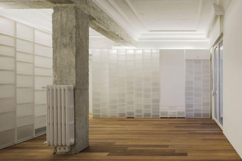 arquitectura serrano + baquero la casa desordenada foto cocina sin mesa