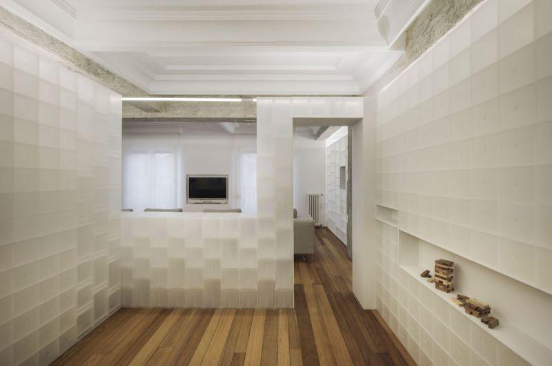 arquitectura serrano + baquero la casa desordenada habitacion
