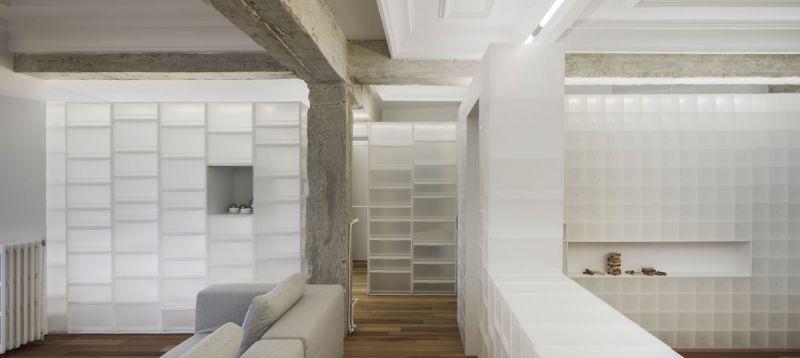 arquitectura serrano + baquero la casa desordenada salon