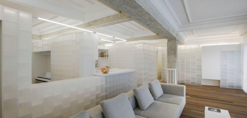 arquitectura serrano + baquero la casa desordenada foto salon sofa