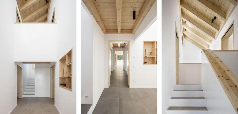 arquitectura alventosa morell arquitectes casa noa fotografia interior dobles alturas