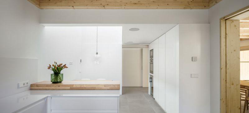 arquitectura alventosa morell arquitectes casa noa fotografia cocina office