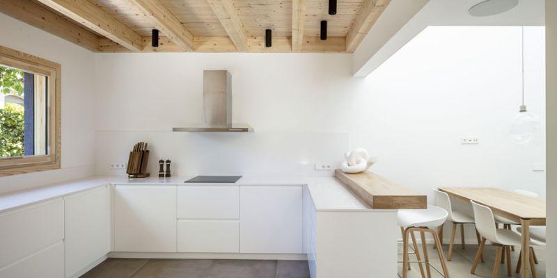arquitectura alventosa morell arquitectes casa noa fotografia cocina