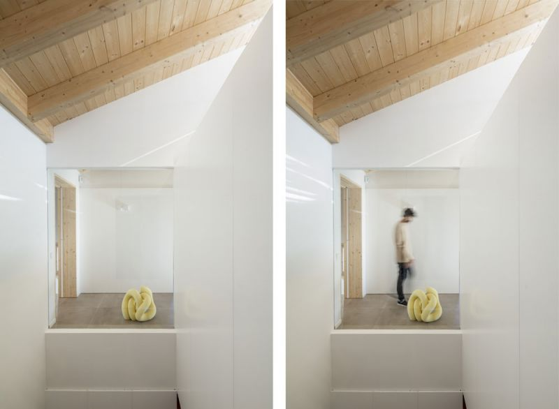 arquitectura alventosa morell arquitectes casa noa fotografia escaleras