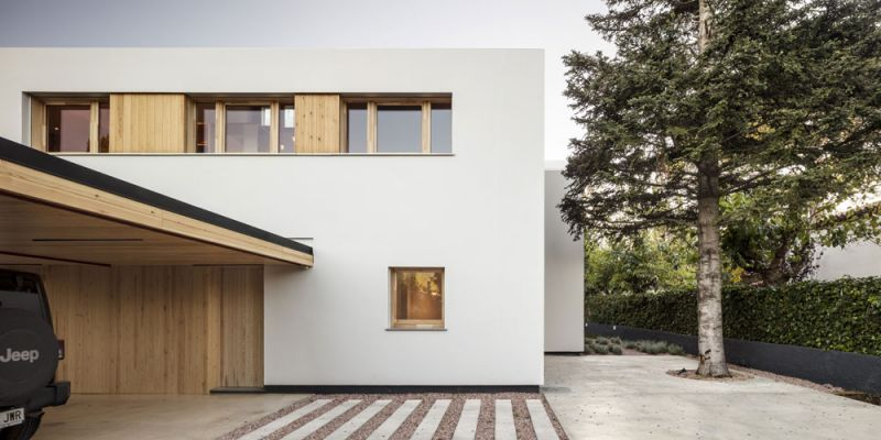 arquitectura alventosa morell arquitectes casa noa fotografia exterior general  trasera