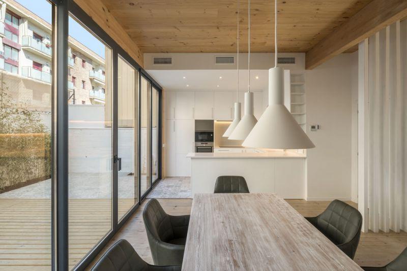 arquitectura entrevista exclusiva vilalta architects casa BD comedor cocina