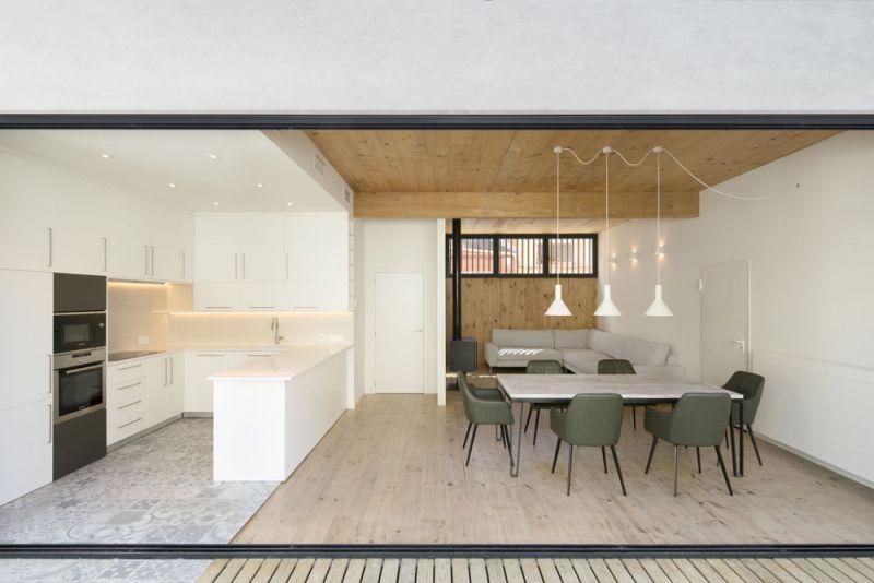 arquitectura entrevista exclusiva vilalta architects casa BD terraza al interior