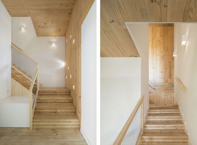 arquitectura entrevista exclusiva vilalta architects casa BD escalera acceso