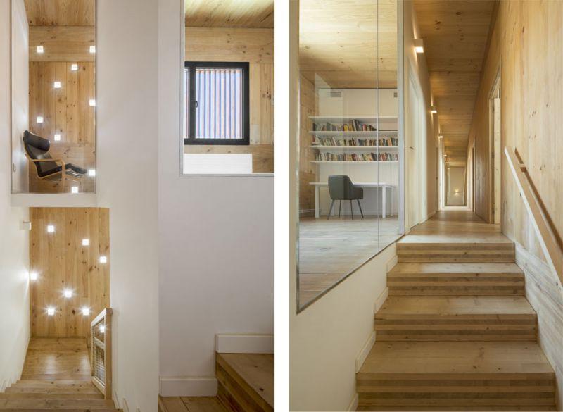 arquitectura entrevista exclusiva vilalta architects casa BD escalera primera planta