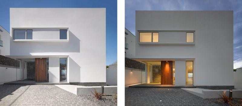 Corona amaral arquitectura ciclo de entrevistas arquitecturayempresa villa playa de la arena foto fachada trasera
