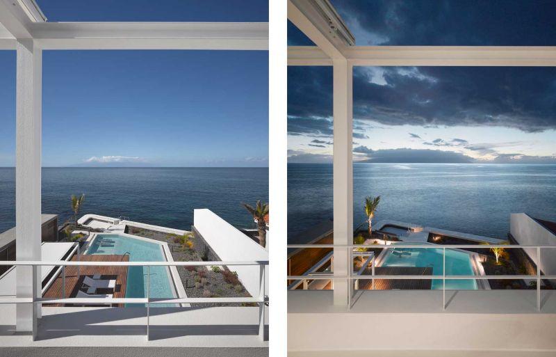 Corona amaral arquitectura ciclo de entrevistas arquitecturayempresa villa playa de la arena foto terraza superior