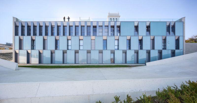 Colegio Mayor Jaizkibel Otxotorena arquitectos fotografia exterior nuevo