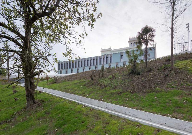 Colegio Mayor Jaizkibel Otxotorena arquitectos fotografia exterior nuevo cima