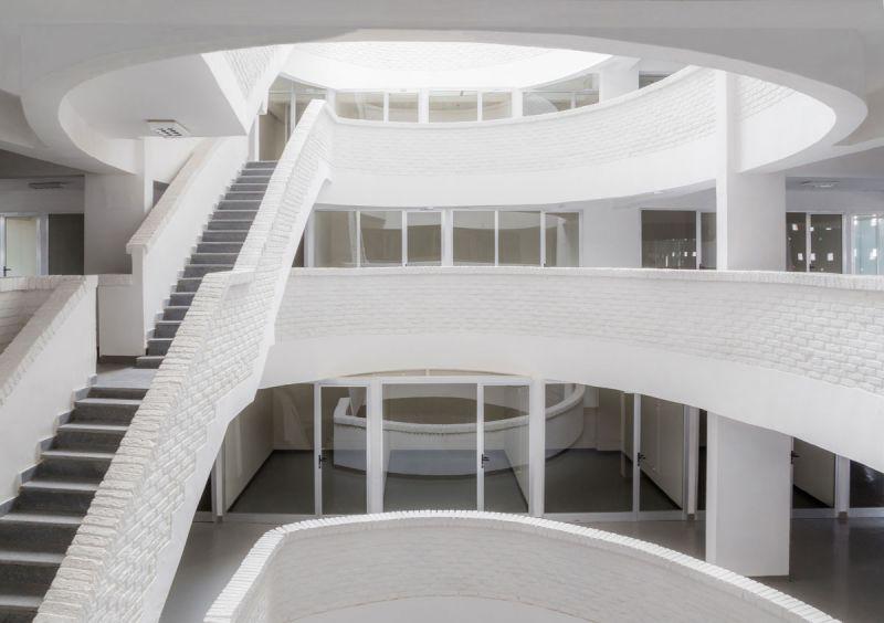 ciclo de entrevistas exclusicas de arquitecturayempresa xavier vilalta arquitectura lideta mercato fotografia interior