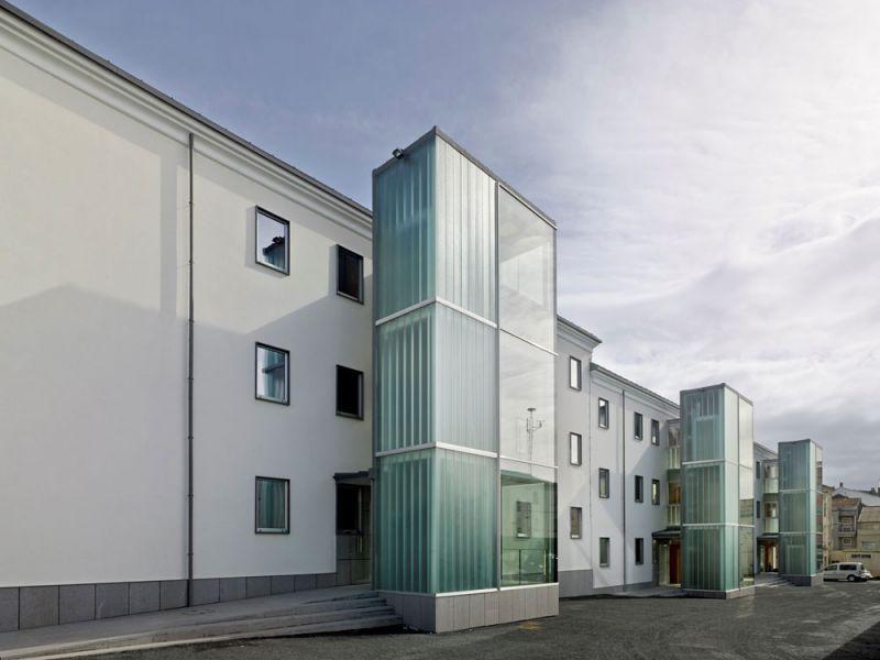 arquitectura entrevista anta arquitectos acondicionamiento casa cuartel guardia civil ferrol exterior
