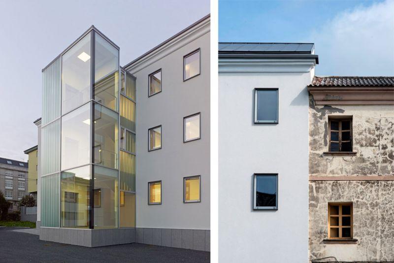 arquitectura entrevista anta arquitectos acondicionamiento casa cuartel guardia civil ferrol exterior detalles