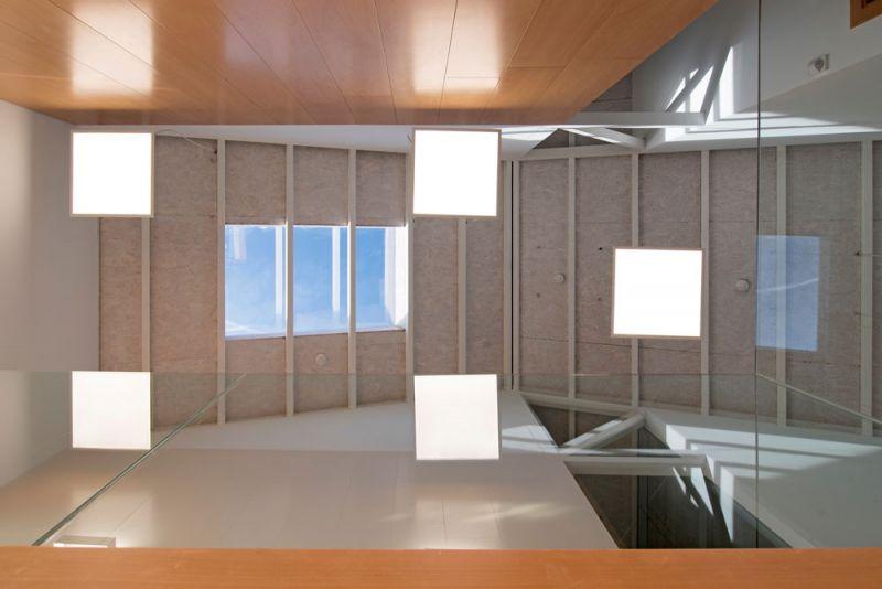 arquitectura entrevista anta arquitectos acondicionamiento casa cuartel guardia civil ferrol interior cubierta hall