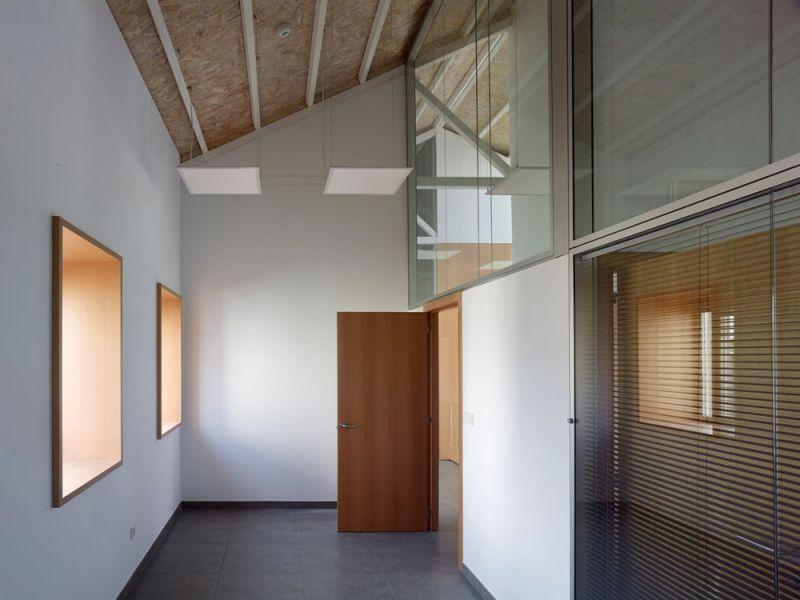 arquitectura entrevista anta arquitectos acondicionamiento casa cuartel guardia civil ferrol interior sala
