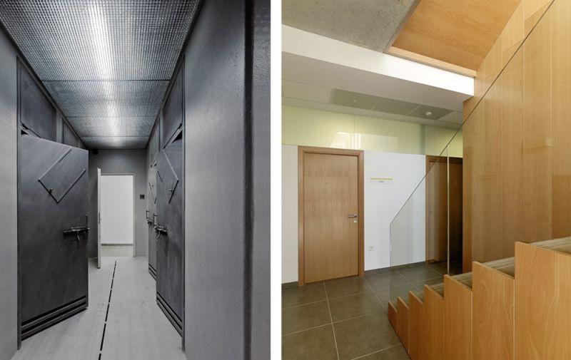 arquitectura entrevista anta arquitectos acondicionamiento casa cuartel guardia civil ferrol interior pasillos